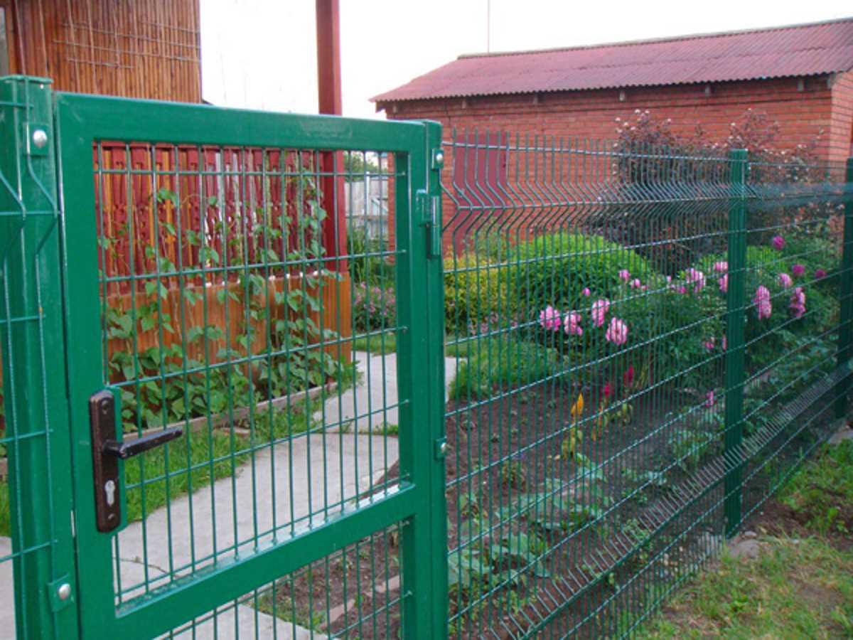 Огородные заборы своими руками